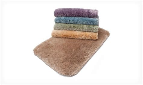 Sunham Home Fashions Bath Rug 39 99 For 2 Luxury Memory Foam Bathmats Groupon