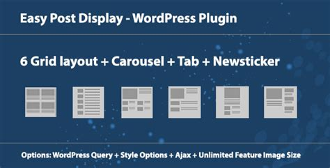 layout post wordpress 8 great wordpress plugins for post display design blog