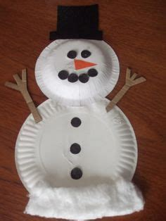 How To Make A Paper Plate Snowman - 21 easy paper plate snowman ideas for your guide