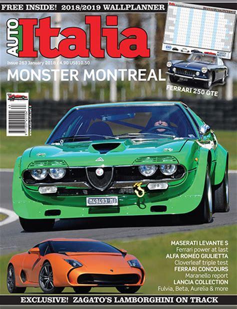 Auto Italia by Auto Italia Magazine Italian Automobile Design