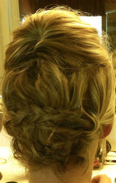 black tie event hair updo that i did for charity black tie event in dallas