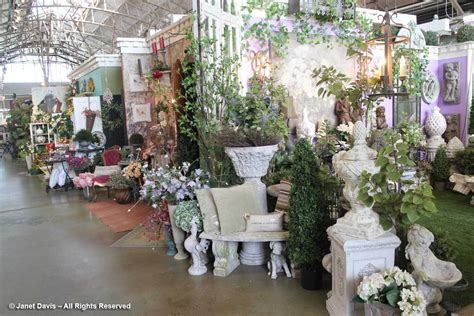 Garden Centre Decorations by Janet Davis Explores Colour In The Garden The World
