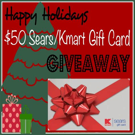 Can A Sears Gift Card Be Used At Kmart - happy holidays 50 sears kmart gift card giveaway jamericanspice