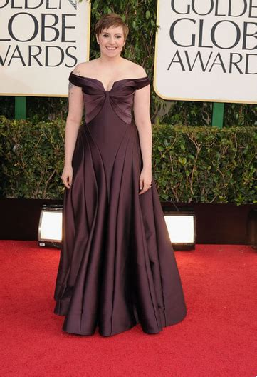 Golden Globe Musings by Monday Musings Lena Dunham The Emmys And A Fashion