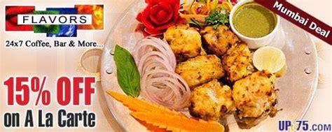 flavors buffet coupon flavors restaurant hotel ambassador churchgate mumbai deals 2018