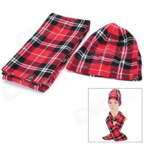 grid pattern fashion grid pattern fashion lady s polar fleece warmer cap