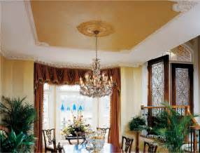 Plantation Homes Interior ceiling design and dining room ceiling details