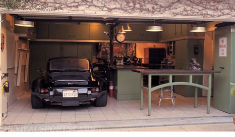 garage with workshop one car garage workshop ideas photo gallery house plans
