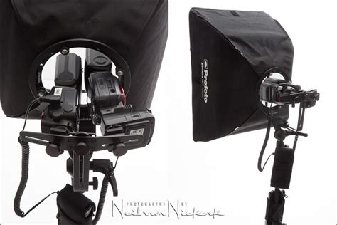 Speedlight Softbox softboxes with speedlights for on location lighting