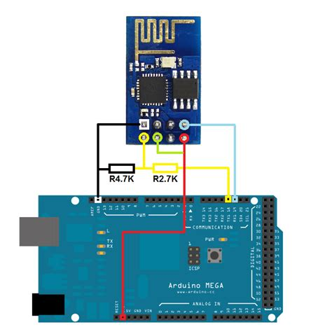 tutorial arduino wifi esp8266 wifi issue while connecting esp8266 with arduino mega