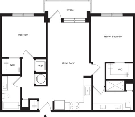 Parkland Residences Floor Plan by 312 Northwood Floorplans Amp Availability