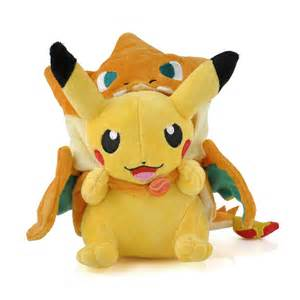New Pikachu With X Charizard Hat Plush Soft Stuffed Animal pikachu with charizard hat soft plush stuffed animal doll 9 ebay