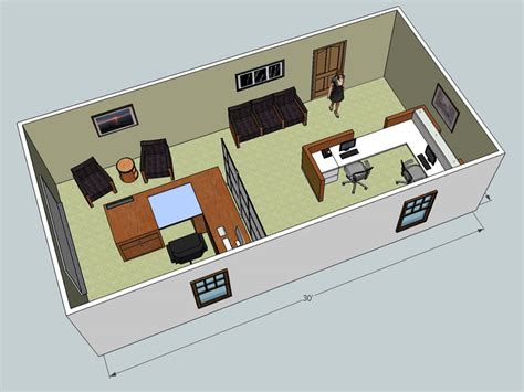 3d furniture layout 3d office design service wny office space