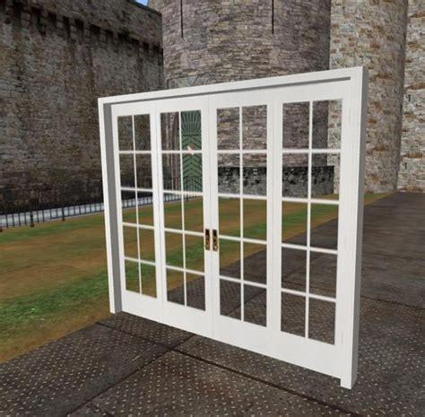 4 panel patio door second marketplace 4 panel white bifold door