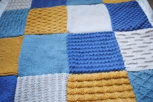 la couverture patchwork en tricot lucette et suzette