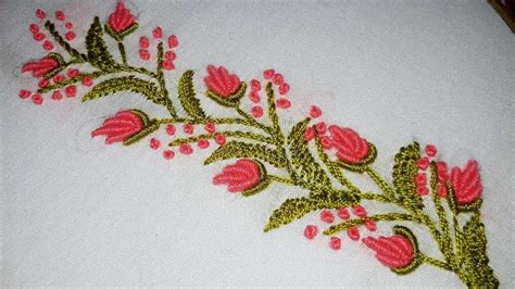 embroidery designs embroidery border line tutorial for
