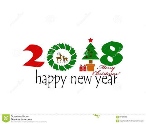 imagenes feliz navidad 2018 feliz navidad 2018 stock de ilustraci 243 n imagen de