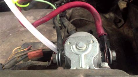 how to bypass a killswitch on a boat solenoid bypass youtube