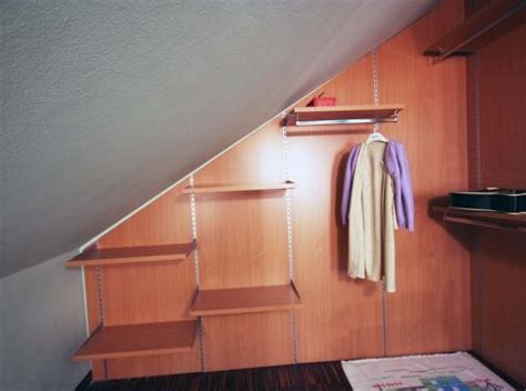 armadi per mansarda fai da te cabina armadio in mansarda