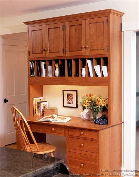 kitchen cabinet desk ideas shaker kitchen cabinets door styles designs and pictures