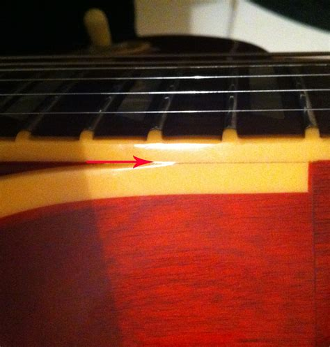 Gitarre Lack Gerissen by Gibson Les Paul Standard 2008 Risse Im Lack Und Im Holz