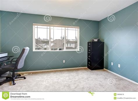 Home Floor Plans With Prices simple home office room interior with blue walls stock