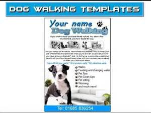 Walking Poster Template by Walking Flyer Leaflets Templates Doggies