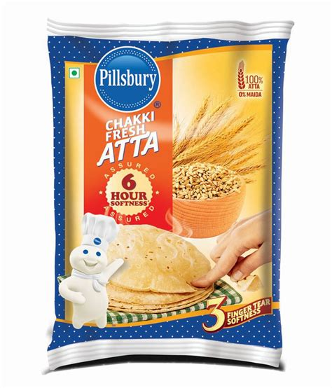 Icha Top Atta 1 pillsbury chakki fresh atta 5 kg buy pillsbury chakki