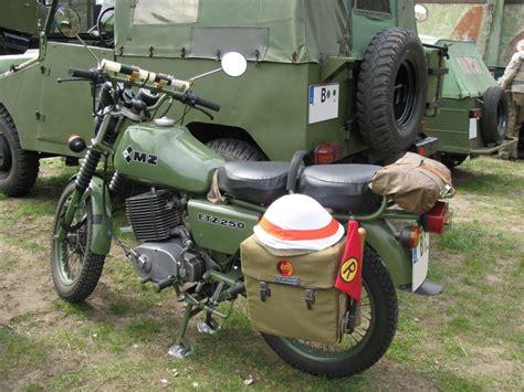 Mz Motorrad Bundeswehr by Motorrad Mz Etz 250 Quot Nva Quot F 252 R Den Regulierer Einsatz Aus