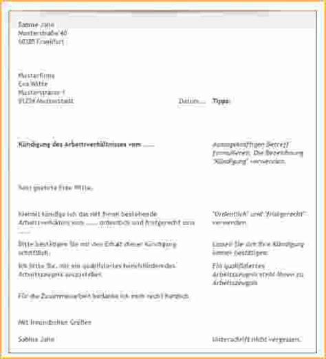 Aufhebungsvertrag Praktikum Vorlage 7 K 252 Ndigungsschreiben Arbeitnehmer Vorlage Kostenlos Bewerbungsschreiben