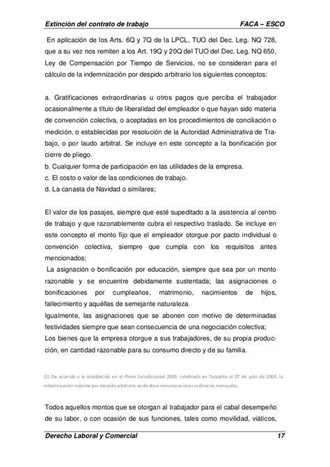 Carta De Trabajo Individual Extinci 243 N Contrato De Trabajo