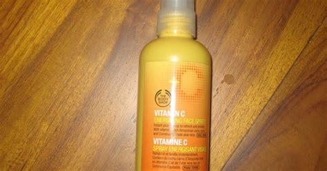 Harga The Shop Vitamin C Energizing Spritz stories memories spray penyegar muka paling best