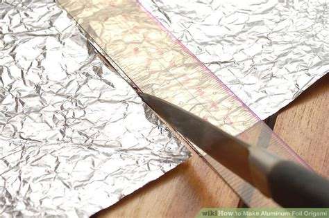 Origami Foil - how to make aluminum foil origami 9 steps with pictures