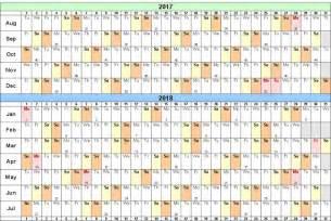 Calendar 2018 Layout School Calendar 2017 2018 Templates