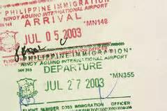 consolato filippino a passaporto delle filippine foto stock iscriviti gratis