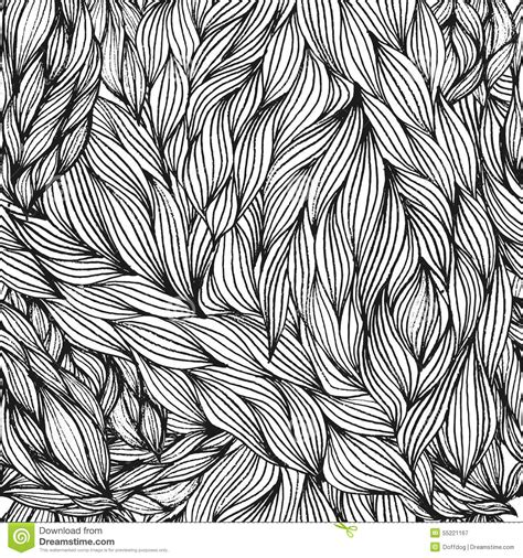 white hair pattern hair seamless pattern stock vector image 55221167