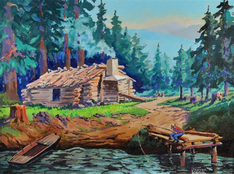 Colorful Cabins by Colorful Cabin By Oregon Artist Thayne J Logan From Cascadecollection On Ruby