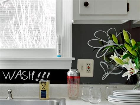 diy chalkboard backsplash how to make a backsplash message board how tos diy