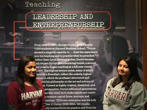 Harvard Mba Exchange Program by Students Learn Leadership Entrepreneurship And More At