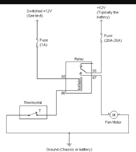 vt modore thermo fan wiring diagram wiring diagram
