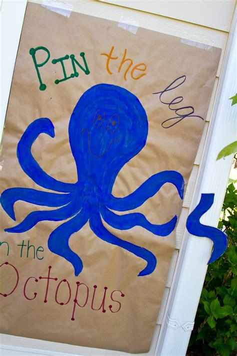 blue themed games pin by tammy bryant on under the sea party pinterest