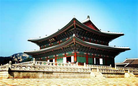 Wallpaper Korea 3d palace seoul south korea wallpapers http