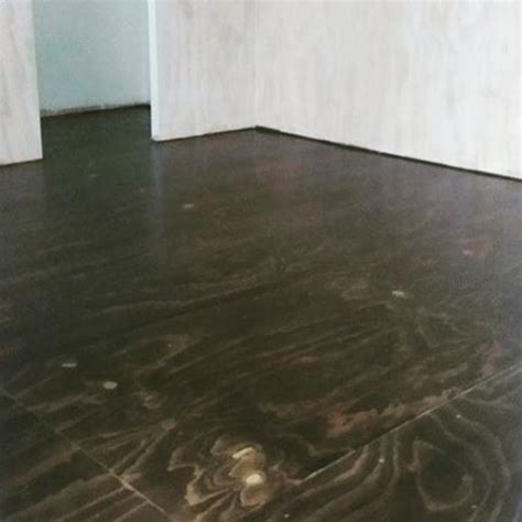 78  ideas about Stained Plywood Floors on Pinterest
