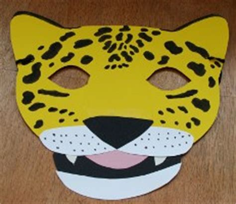 how to make a jaguar mask jaguar mask
