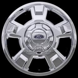 Chrome Aluminum Truck Wheels 4 Chrome 2009 2014 Ford F150 17 Quot Wheel Skins Hub Caps