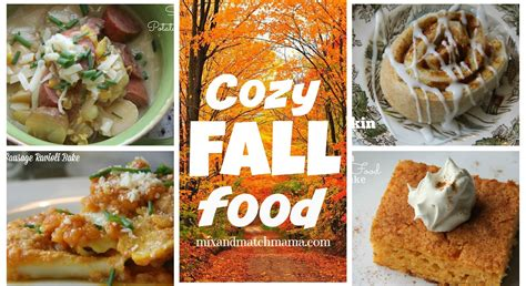 cozy fall food mix and match mama