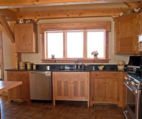 Tiger Maple Kitchen Cabinets H Bailey Custom Furniture