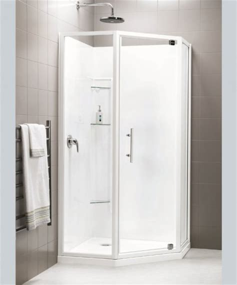 Showers Nz by Danube Acrylic Neo Angle Showers