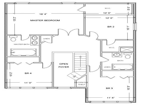 layout or plan simple small house floor plans free house floor plan