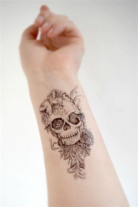 tatto ideas 2017 skull temporary tattoo skull black